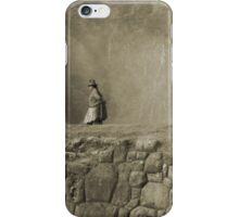 fire on the inca terrace iPhone Case/Skin