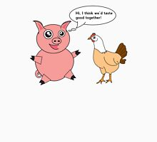 Pig and Chicken Unisex T-Shirt