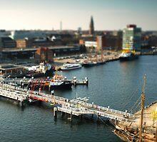 Kiel from above by Hilthart Pedersen