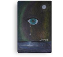 The Cry of Letting Go Canvas Print