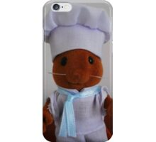Sylvanian Families ~ Chef Mouse Basil iPhone Case/Skin