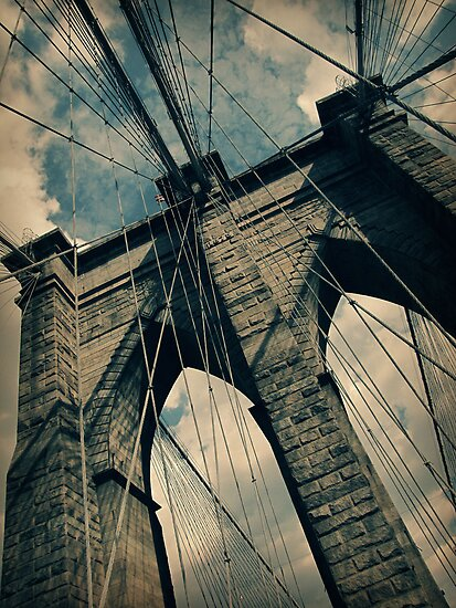 Brooklyn Bridge by Caroline Fournier