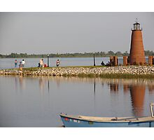 Nice Afternoon at the Light House Photographic Print