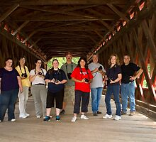 Covered Bridge Brigade by Mark Van Scyoc