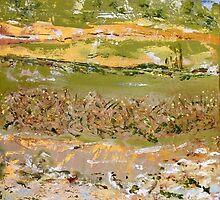Desert Birdsong - Lake Eyre II by Kathie Nichols