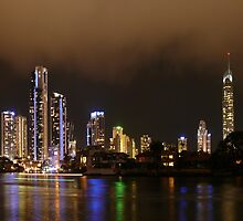 A moment before, Broadbeach, opposite the Gold Coast Council Chambers, Australia  by krista121