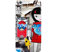 STREET ART BARCELONA iPhone Case/Skin