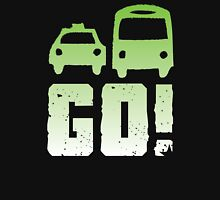 GREEN car taxi bus GO! Unisex T-Shirt