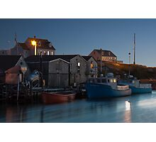 Harbour At Peggy's Cove Photographic Print