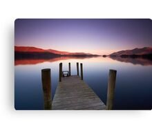 Dawn at Derwentwater Canvas Print