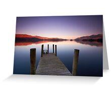 Dawn at Derwentwater Greeting Card