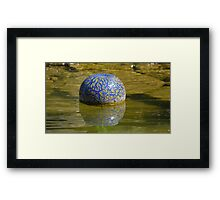 Chuhily Ball on the water Framed Print