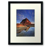 Barrenjoey Warmth Framed Print