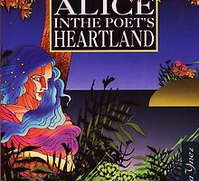 From Wonderland Alice in the book cover of Poet's Heartland by Alicia R. Bernal