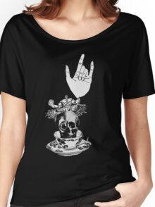 The Incredible, Teapot riding, Three-eyed winged Hulkskull Women's Relaxed Fit T-Shirt