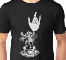 The Incredible, Teapot riding, Three-eyed winged Hulkskull Unisex T-Shirt
