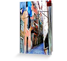 Lisbon Greeting Card