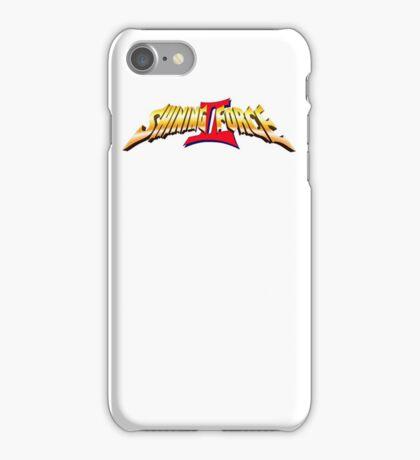 Shining Force 2 Logo iPhone Case/Skin