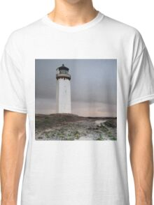 Southerness Lighthouse at Sunset Classic T-Shirt