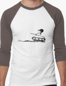 Duck Tank Men's Baseball ¾ T-Shirt