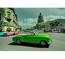 Capitol Convertable  Photographic Print
