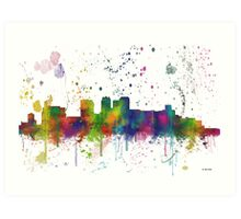 Birmingham, Alabama Skyline Art Print