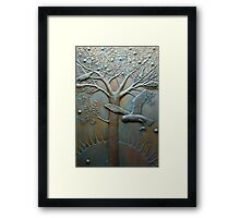 SYMBOLS OF NATURE Framed Print