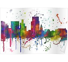 Boise, Idaho Skyline Poster