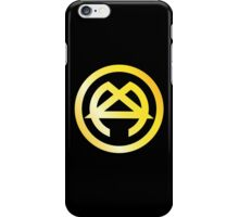 Golden logo iPhone Case/Skin