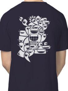 Happy Squiggles - 1-Bit Oddity - White Version Classic T-Shirt