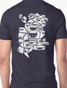 Happy Squiggles - 1-Bit Oddity - White Version T-Shirt