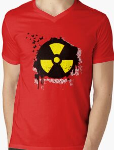 nuclear hazzard Mens V-Neck T-Shirt