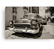Chevy Taxi  Canvas Print