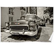 Chevy Taxi  Poster