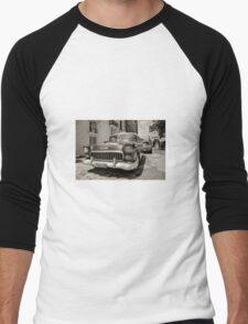 Chevy Taxi  Men's Baseball ¾ T-Shirt