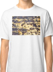 Peeling Yellow Paint Textures 75 Classic T-Shirt