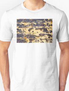 Peeling Yellow Paint Textures 75 T-Shirt