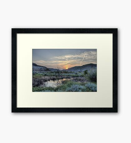 Warming Trend Framed Print