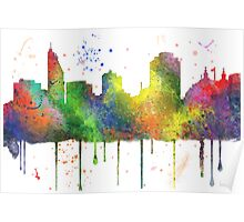 Cincinnati, Ohio Skyline Poster