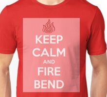Keep Calm and Fire Bend Unisex T-Shirt
