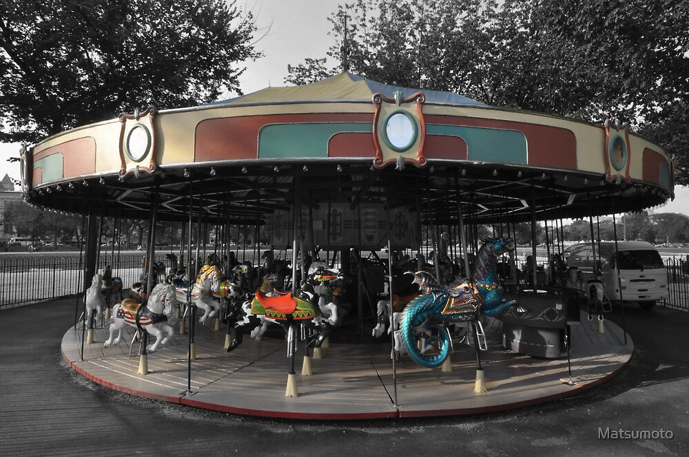 Merry-go-round by Matsumoto