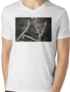Overgrown stairs Mens V-Neck T-Shirt