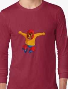 Pro Wrestler Long Sleeve T-Shirt
