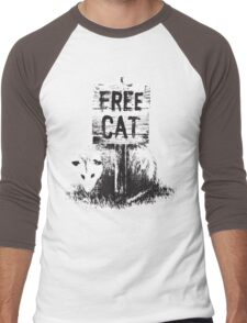 Free cat Men's Baseball ¾ T-Shirt