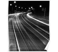 Freeway Lights Poster
