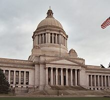 Olympia Capitol, WA by Julia Washburn