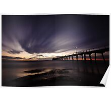 Largs Pier Poster