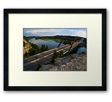 360 Bridge near sunset - 2010 Framed Print