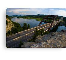 360 Bridge near sunset - 2010 Canvas Print