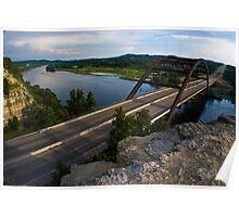 360 Bridge near sunset - 2010 Poster
